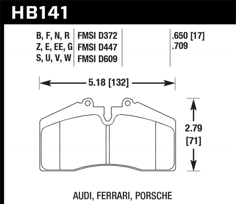 Hawk Performance Disc Brake Pad
