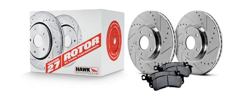 Hawk Performance Sector 27 Brake Kits Acura CL Front 1997 2.2L 4-Cyl