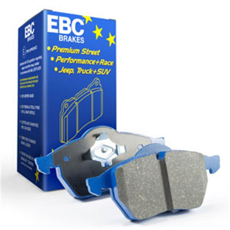 EBC Brakes Bluestuff NDX Track and Street Pad Mercedes-Benz Rear