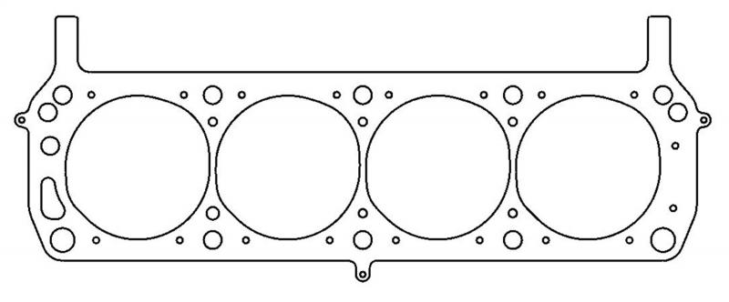 "Cometic Gaskets .027"" MLS Cylinder Head Gasket, 4.100"" Gasket Bore.SVO/YATES.LHS. Each"