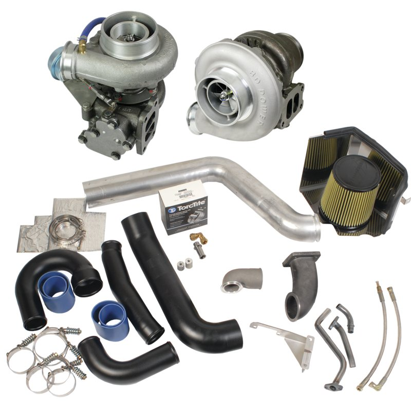 BD Diesel Super B Twin Turbo Kit - 1994-98 12-valve Dodge Dodge 1994-1998