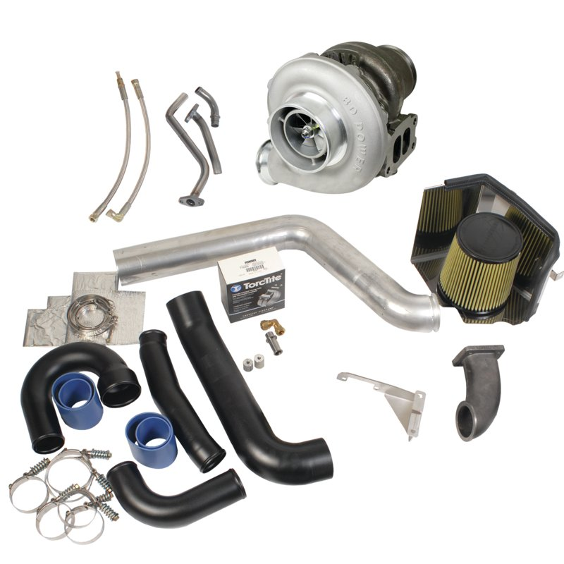BD Diesel Super B Twin Turbo Upgrade Kit - 1994-1998 12-valve Dodge Dodge 1994-1998