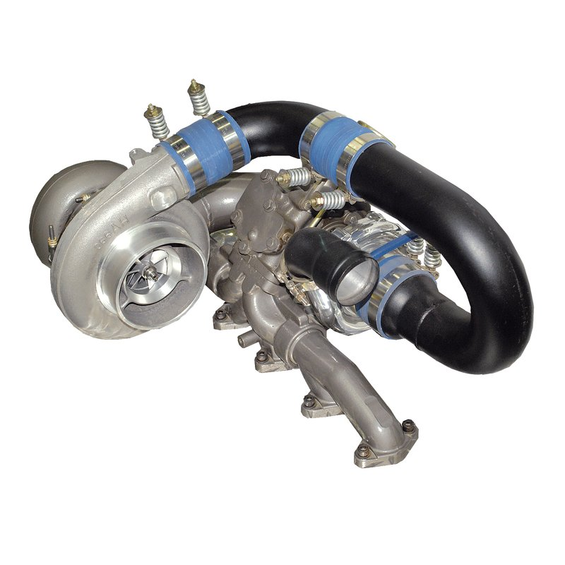 BD Diesel R850 Tow & Track Turbo Kit w/o Secondary - 1998-2002 24valve Manual Trans Dodge 1998-2002