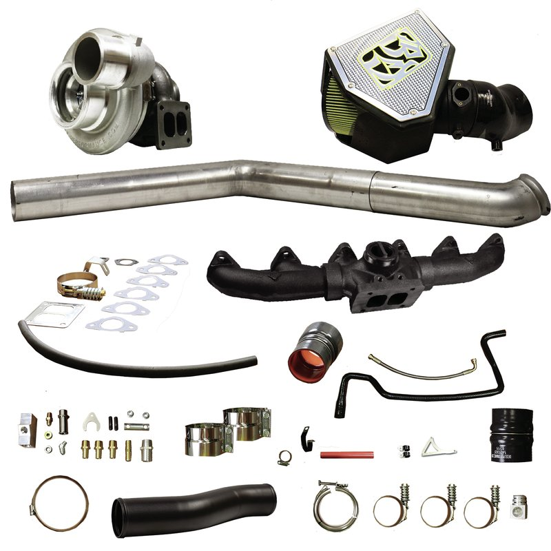 BD Diesel Rumble B Turbo Kit, S467 1.10 A/R - Dodge 2010-2012 6.7L