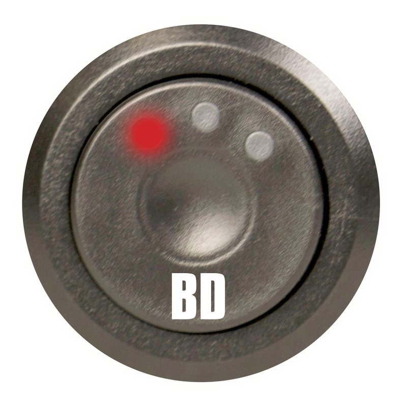 BD Diesel Throttle Sensitivity Booster Push Button Switch Kit
