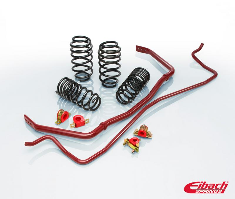 Eibach Springs PRO-PLUS (PRO-KIT Springs & ANTI-ROLL-KIT Sway Bars) Ford Mustang 2011-2014