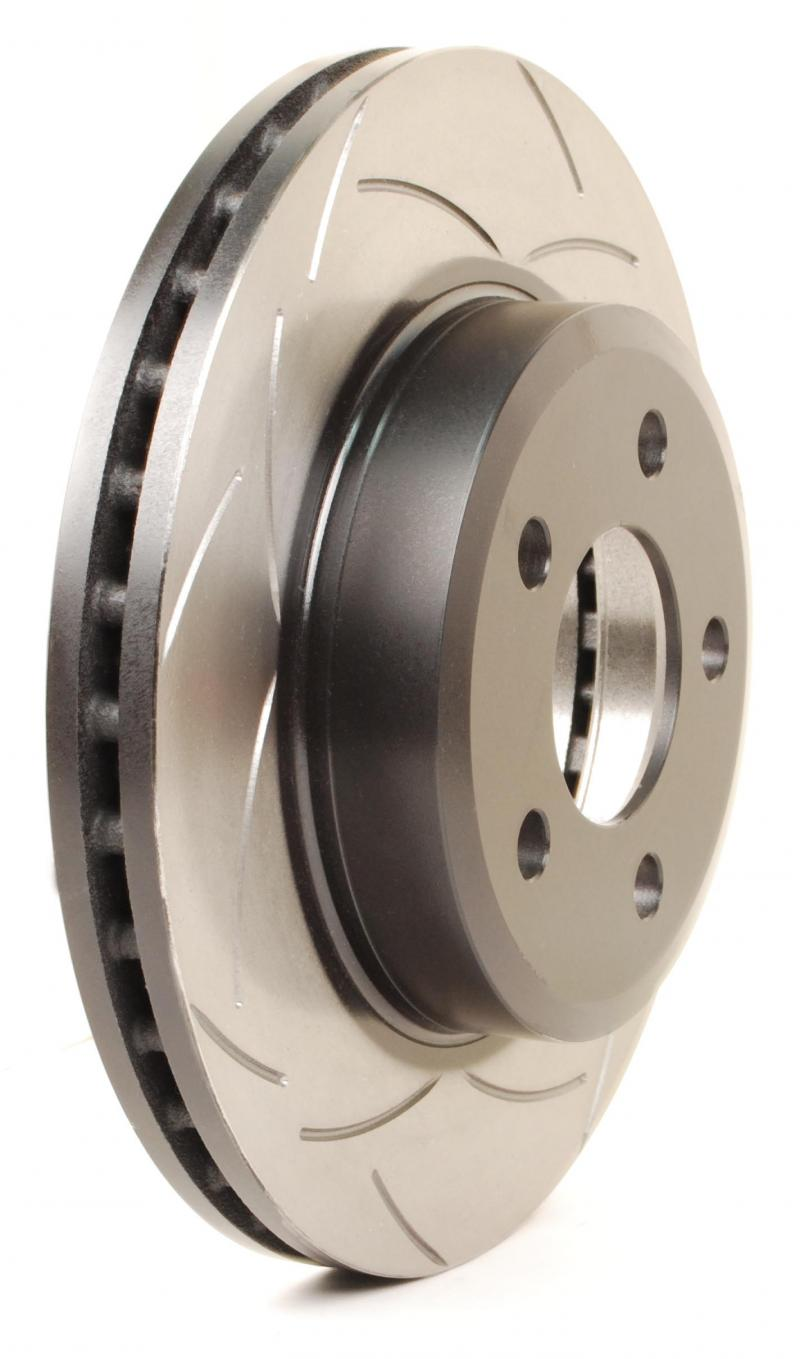 Disc Brakes Australia T2 T-Slot Uni-Directional Slotted Rotor Ford Mustang Rear 1994-2004 - DBA102S