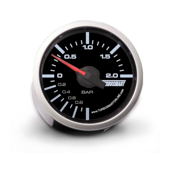 TurboSmart USA Boost Gauge 0-2 BAR 52mm - 2 1/16