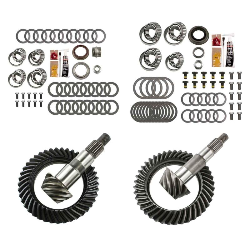 EXCEL from Richmond Differential Ring and Pinion Front and Rear Complete Kit Jeep Wrangler N/A 2007-2017 - XLK-5000