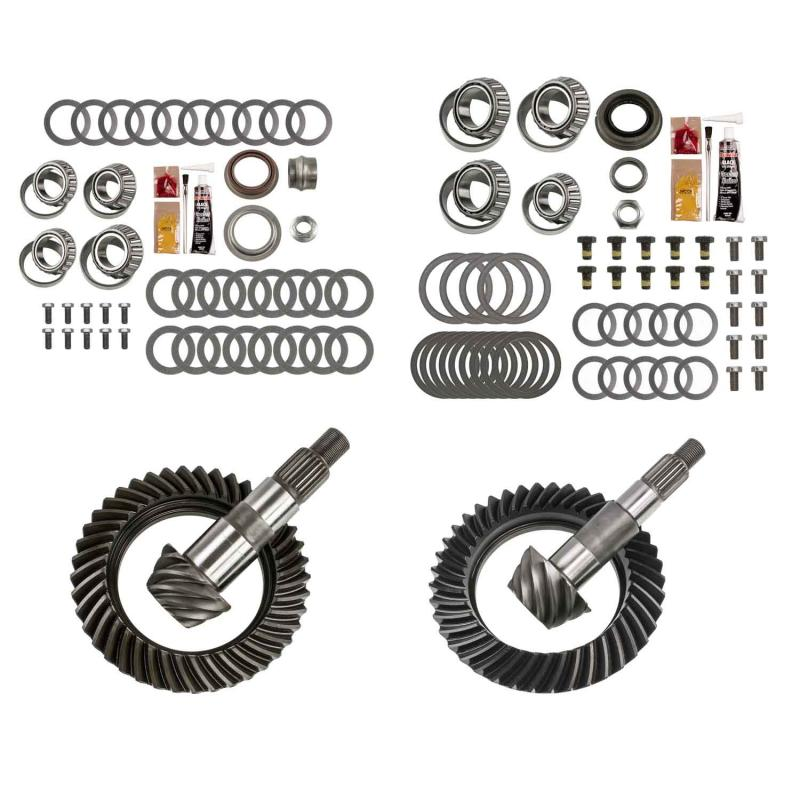 EXCEL from Richmond Differential Ring and Pinion Front and Rear Complete Kit Jeep Wrangler N/A 2007-2017 - XLK-5001