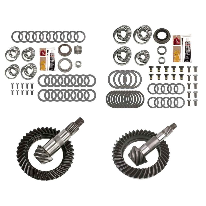 EXCEL from Richmond Differential Ring and Pinion Front and Rear Complete Kit Jeep Wrangler N/A 2007-2017 - XLK-5002