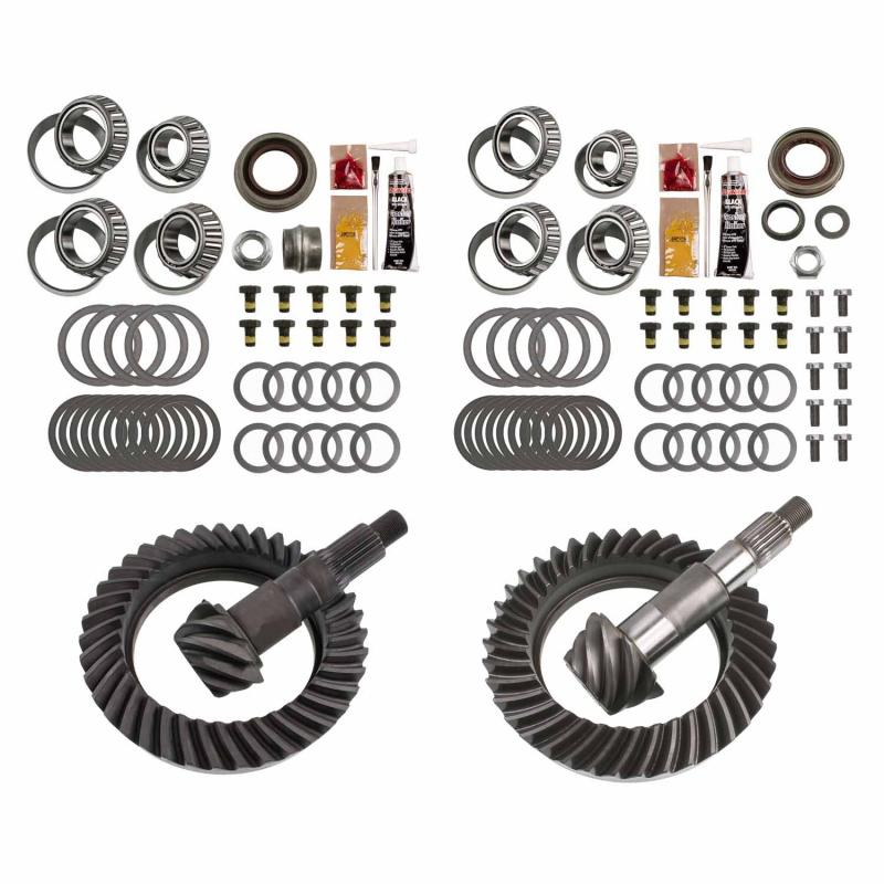 EXCEL from Richmond Differential Ring and Pinion Front and Rear Complete Kit Jeep Wrangler N/A 2007-2017 - XLK-5006