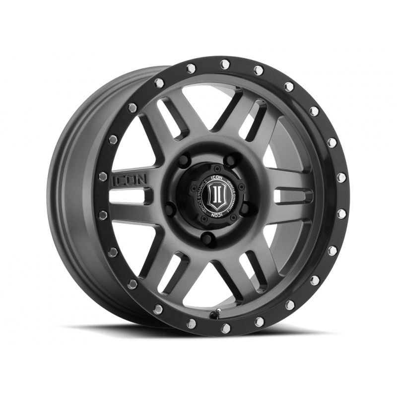 ICON Alloys ICON ALLOY SIX SPEED GUN MTL 17 X 8.5 W/  5 ON 150  BOLT CIR