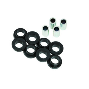 Aldan American Poly Bushing and 1/2 in. Bore Sleeve Kit. For 1 Pair Aldan coilovers or shocks