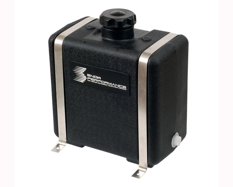 Snow Performance 7 Gallon Reservoir (w/ Bracket Solenoid & Hose) (15Lx17Hx9W) Universal