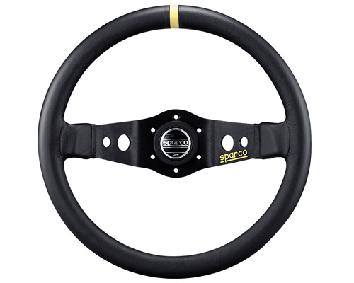 Sparco 215 Leather Universal Racing Steering Wheel