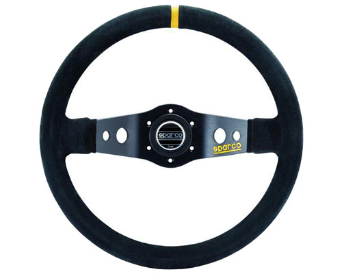 Sparco 215 Suede Universal Racing Steering Wheel