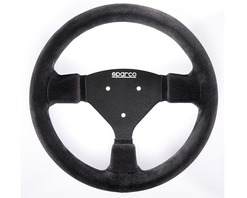 Sparco 270 Suede Universal Racing Steering Wheel