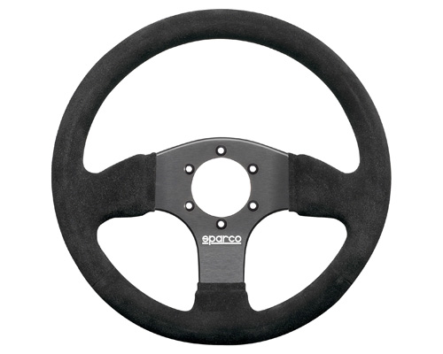 Sparco 300 Suede Universal Racing Steering Wheel