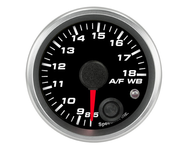 SpeedHut Air/Fuel Gauge Wide Band 8.5-18 with Warning FOR AEM