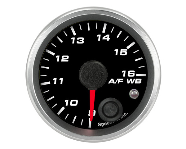 SpeedHut Air/Fuel Gauge Wide Band 9-16 with Warning for Ballenger AFR500 and NGK AFX