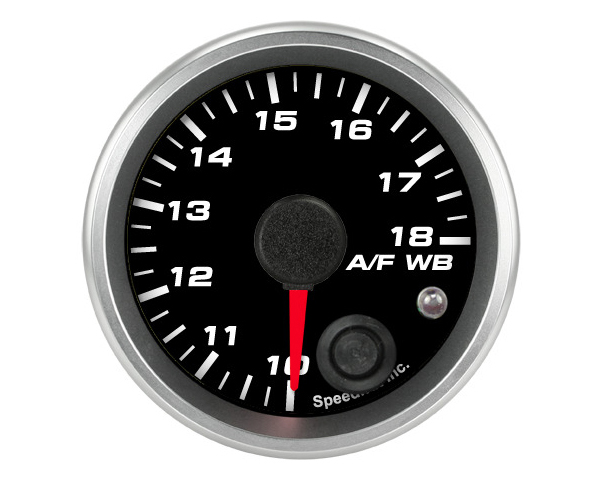 SpeedHut Air/Fuel Gauge Wide Band 10-18 with Warning FOR PLX