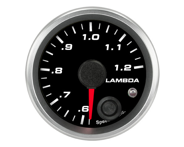 SpeedHut Air/Fuel Gauge Lambda .6-1.2 with Warning FOR AEM