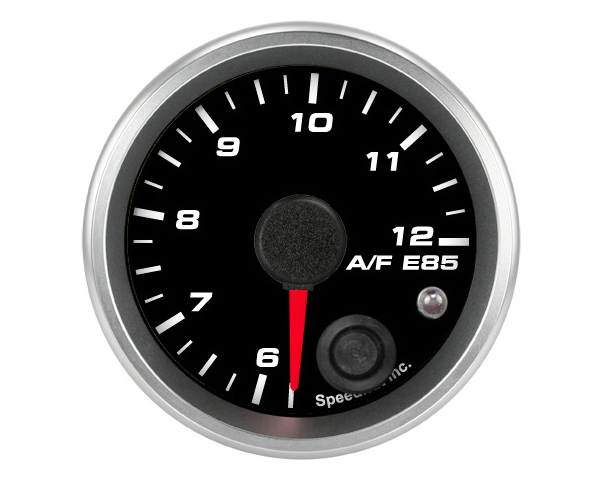 SpeedHut Air/Fuel Gauge E85 6-12 with Warning FOR AEM
