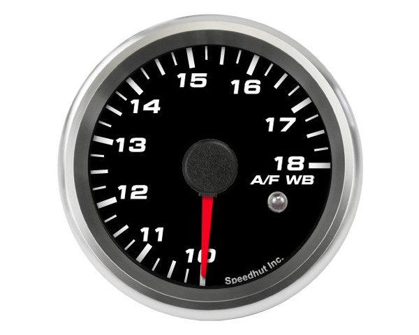 SpeedHut Air/Fuel Gauge Wide Band 10-18 with Warning FOR INNOVATE
