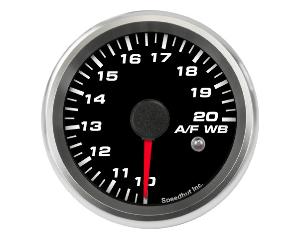 SpeedHut Air/Fuel Gauge Wide Band 10-20 with Warning FOR SPARTAN LAMBDA
