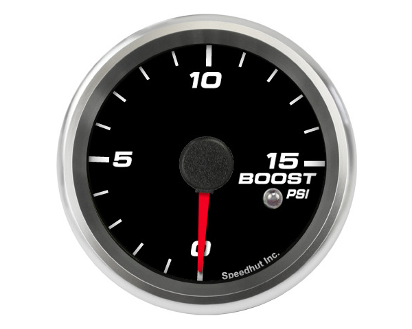 SpeedHut Boost Gauge 0-15psi with Warning