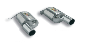 Supersprint Rear Exhaust Mufflers Dual Tip BMW E92 335i Coupe 07-11 - 980224