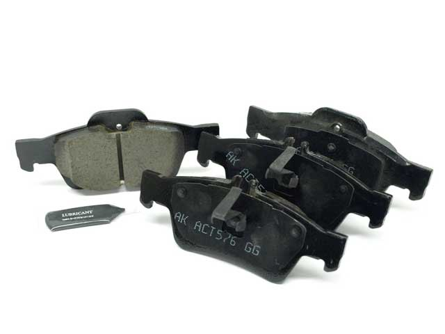 Akebono Euro Disc Brake Pad Mercedes-Benz E250 2014-2015