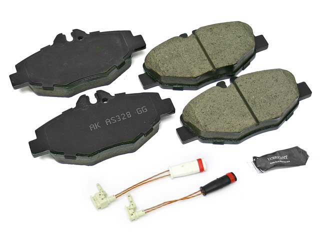 Akebono Euro Disc Brake Pad Mercedes-Benz E350 2006-2009