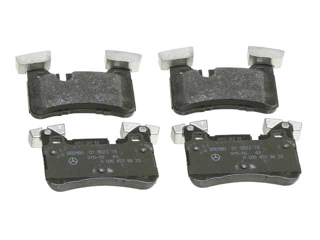 Genuine Mercedes Disc Brake Pad Mercedes-Benz Rear