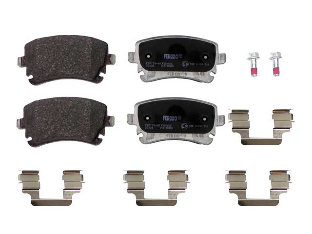 Ferodo Disc Brake Pad Audi RS4 Rear 2007-2008