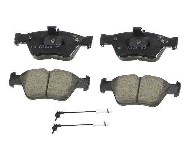 Akebono Euro Mercedes-Benz Disc Brake Pad