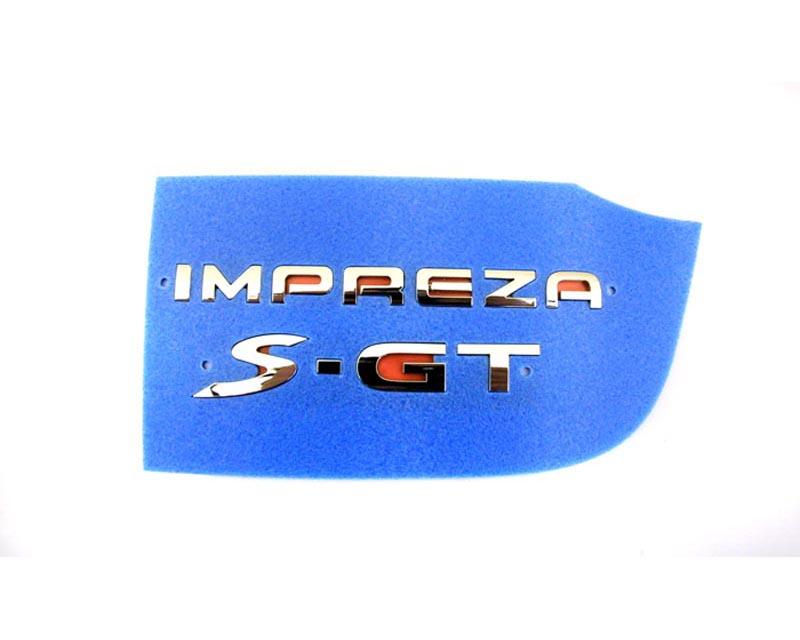 "Subaru ""Impreza S-GT"" Emblem Subaru Impreza 02-03 - 93079FG040"