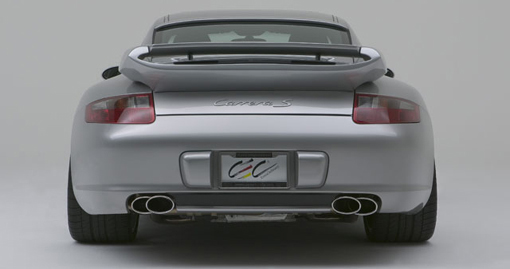 Techart Rear Diffuser Porsche 997 1 Carrera 05 08