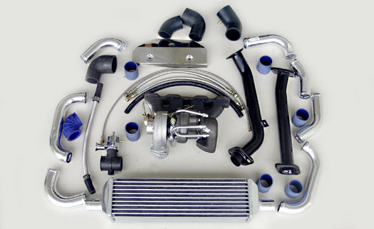 Turbo Specialties T25 Extreme Turbo Kit Mazda Miata 1.8L BP-ZE 99-05 - MM2502E