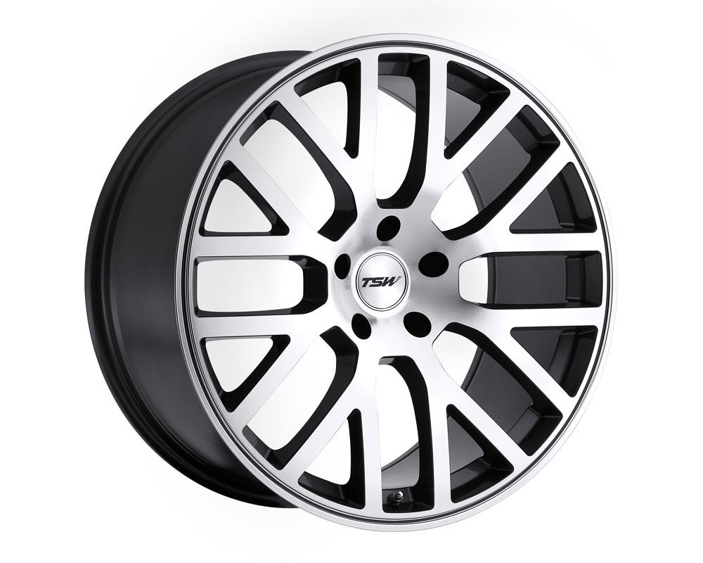 TSW Donington Gunmetal Mirror Cut Face Wheel 20x8.5 5x114.30 40mm - 2085DON405114B76