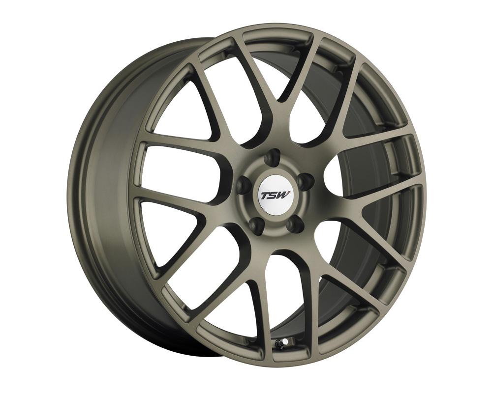 TSW Nurburgring Matte Bronze Wheel 19x9 5x114.3 32mm - 1990NUR325114Z76