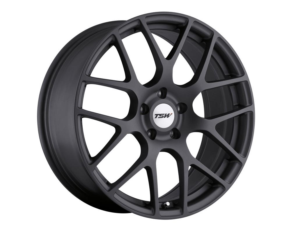 TSW Nurburgring Wheel 18x8 5x112 45mm Matte Gunmetal - 1880NUR455112G72