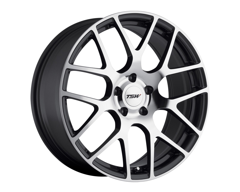 TSW Nurburgring Wheel 19x9 5x120.65 50mm Gunmetal w/ Mirror Cut Face - 1990NUR505121S70
