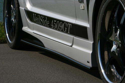 Veilside D1-GT Side Skirts and Door Panels Ford Mustang 05-09 - AE101-02