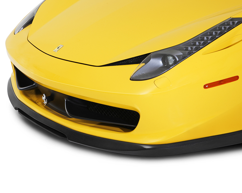 Vorsteiner 458-V Carbon Fiber Front Add-on Lip Spoiler Ferrari 458 Italia 10-13