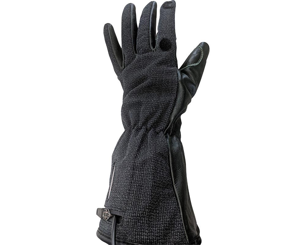 California Heat 7V Outdoor Pro Gloves Black Extra Small - GLOPB-XS