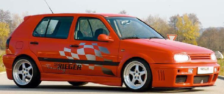 Rieger Infinity Left Side Skirt Volkswagen Golf III 93-99 - R 43033