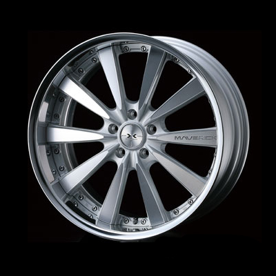Weds Maverick 010S Wheel 18x9.0 5x114.3 - WDSMK010S-1890-5114