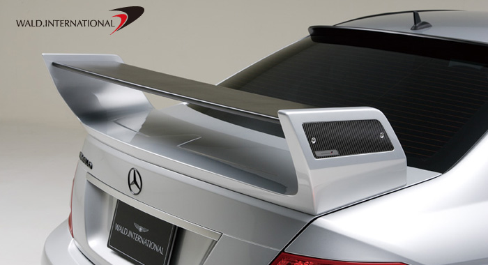 Wald International Black Bison Trunk Wing Mercedes-Benz C63 08-12 - W204.BB.TL.08